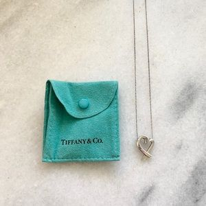 Tiffany & Co Paloma Picasso Antique Heart Necklace